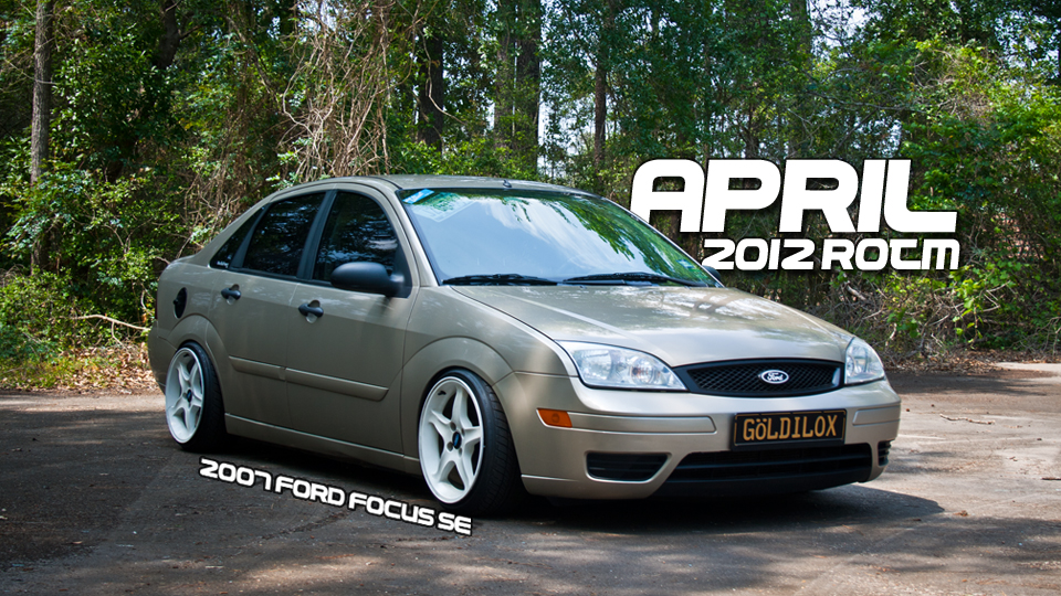 April 2012 Ride of the Month