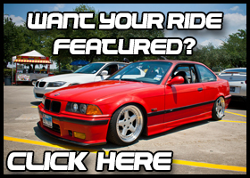 Want your ride featured?